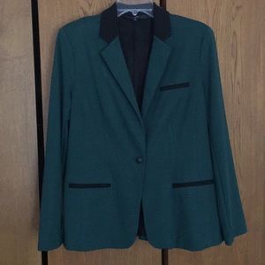 Green and Black Blazer